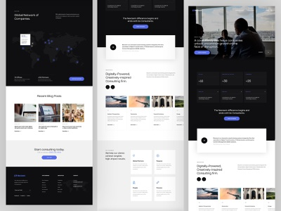 Nextsem Digital Consultancy | Homepage web design professional management corporate identity website webdesign layout homepage corporate consulting consultancy advisory