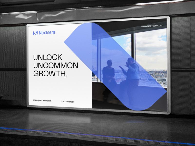 Nextsem Digital Consultancy | Billboard logo outdoor advertising advertising consultants consulting advisory billboard ad design branding advertisement