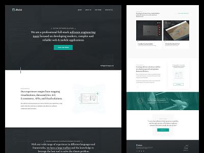 Prairie Software Developers   Homepage agency website development agency agency software developers homepage website user interface web design branding
