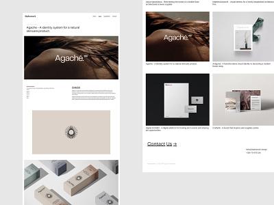 Alphamark — Work Page agency website visual identity layout website portfolio digital studio digital agency branding agency creative agency creative studio web design typography branding