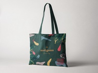 Antigona Tote Bag Design