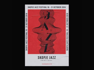 Skopje Jazz Festival Poster