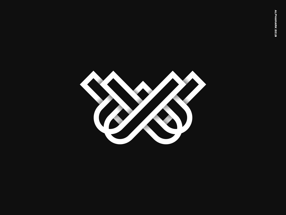 Woven Visuals vector logo designer logo inspiration logo type agency logo cinematography logo symbol logo design logo mark branding logo