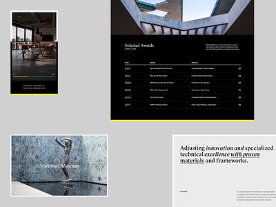 Architecture Studio Website