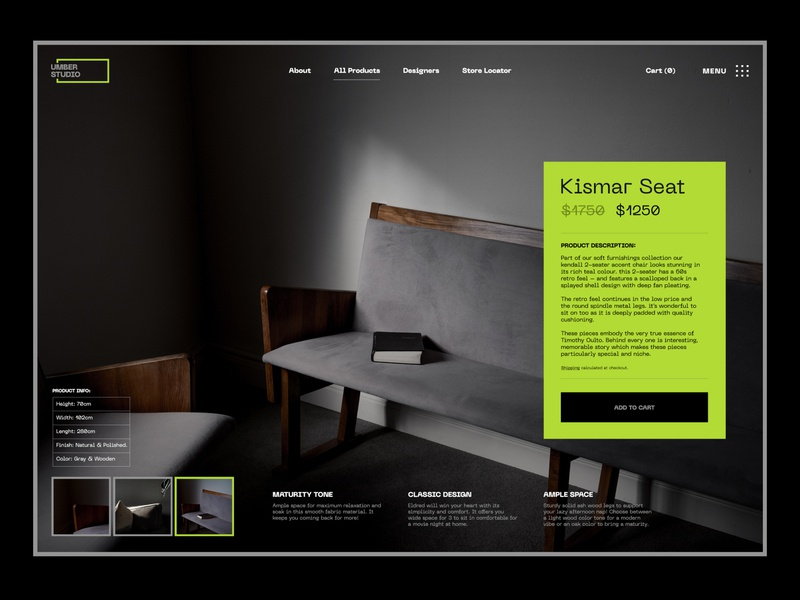 UMBER / Product