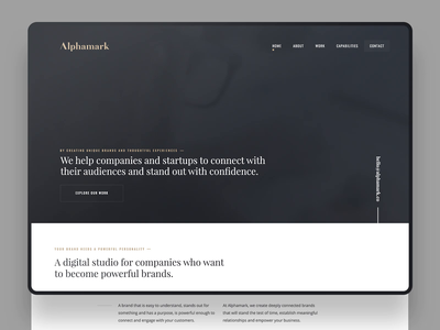 Alphamark Website