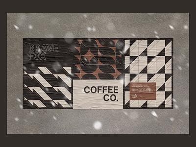 Brave Fox Coffee - Print branding brand poster print
