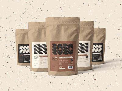 Brave Fox Coffee - Packaging print bags coffee packaging branding brand