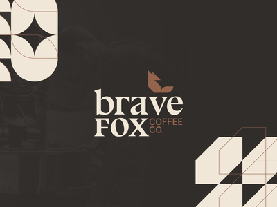 Brave Fox Coffee - Brand brand identity branding brand icon logo