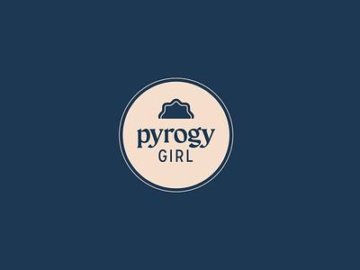 Pyrogy Girl - Brand illustration logo design branding brand