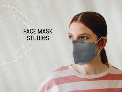 Face Mask Studios - Brand mask photography logo design branding brand