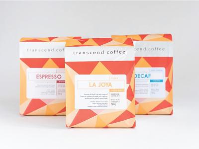 Transcend Coffee Packaging packaging bag coffee transcend