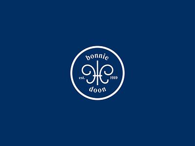 Bonnie Doon Community League design logo brand branding