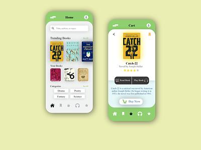 Book Store store shop ios book app ui ux design