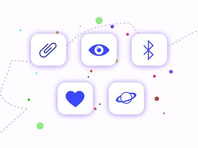ICON icon illustration design
