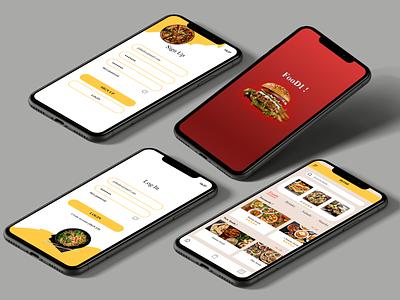 Foodi  ! mobile delivery food app ui ux design