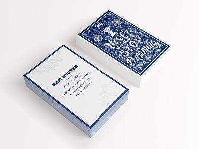 The new name card !! nam hcm namecard illustrator