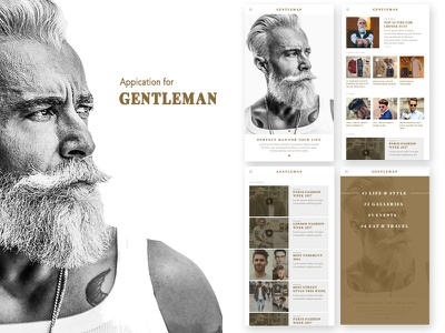 Gentleman News App news blog website classic clean nam hcm gentleman man