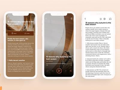 AuBook Aplication mobile application book ui clean namnguyen