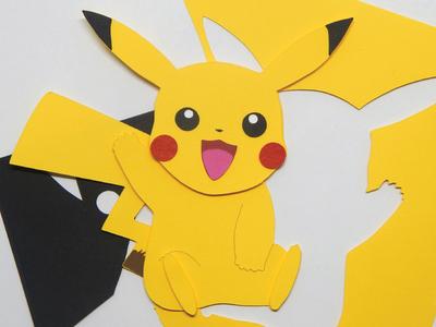 Paper Cut Pikachu