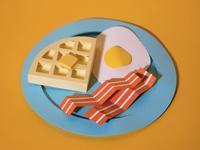 Paper Cut Breakfast