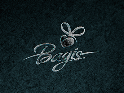 Bagis heart women handbags logo