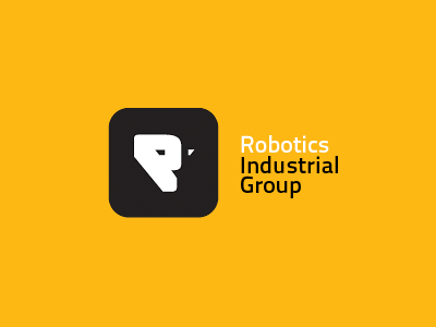 Robotics Industrial Group technology industrial robotics logo