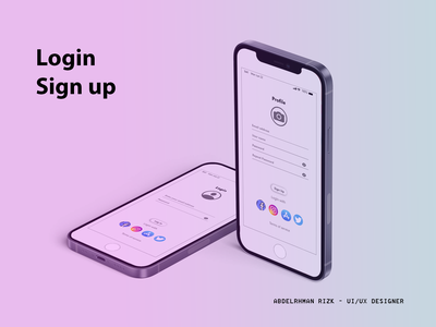Login  & Sign up Form ui designer ui designs uiux ui design uidesign