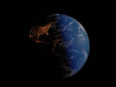 Earth Render blender earth day 3d modeling
