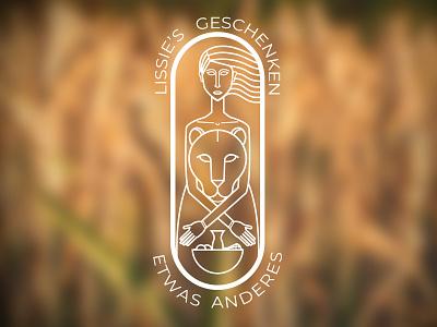 Lissie s Geschenken brand logodesign logo
