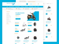 Scooters web store