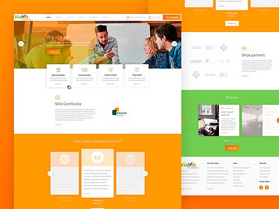 Viridis clean fresh ux design ui webdesign