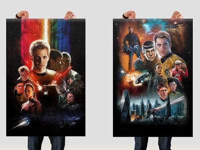 Star Trek Poster Giveaway! star trek poster prints freebies competition illustrated one sheet film poster