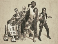 The Gangs All Here! Star Wars!