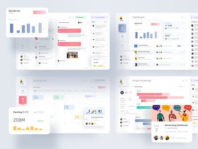 All Screens branding design design creative gradient branding dribbble dribbble best shot ofspace inside ofspace agency ofspace dashboard design dashboard app dashboard ui dashboard