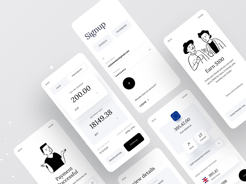 Money transfer | A Better Way to Handle Your Money transferwise revolt paypal dribbble trending dribbble dribbble best shot minimal app ofspace branding app design icon ui web ios guide app design payment form payment app payments payment money management money transfer money app money