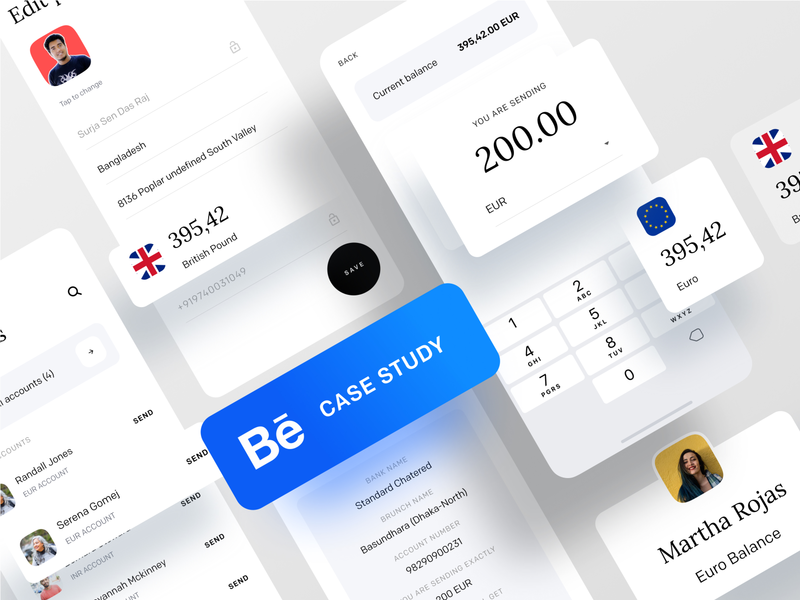 Case Study : A Better Way to Handle Your Money airtm paypal transferwise revolut wallet walletapp branding dribbble best shot dribbble ofspace agency ofspace money management payment form payment app payment method money transfer money app money payment