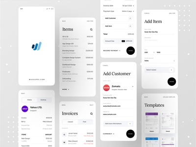 Wave Redesign: Invoicing and Money Management branding dribbble best shot dribbble phonepe ofspace agency ofspace paytm transfer money transferwise money management pay money transfer money app payment method payment form payment app paypal payments payment