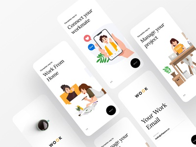 Better Way To Manage Your Work brand identity brand design branding creative dribbble dribbble best shot app ofspace agency ofspace project managment project management tool project management work in progress work from home workout work