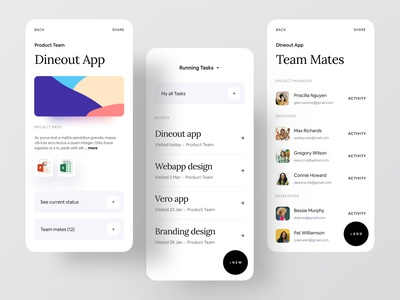 Better Way To Manage Your Work gradient dribbble app design icon ui web ios guide minimal app app design project manager ofspace agency ofspace dribbble best shot brand design trello asana dineout project management tool project management branding design brand identity branding brand