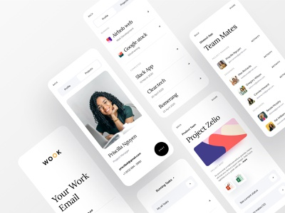 Better Way To Manage Your Work branding agency branding project management tool project management project managment project manager profile work email minimal app ofspace agency ofspace dribbble app design asana trello dribbble best shot workfromhome work from home