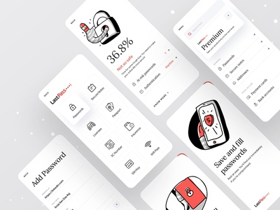 Lastpass Minimal Version brand design branding agency branding design branding ofspace agency ofspace dribbble best shot dribbble app design agency ui agency ux design agency best ux agency app design ui ux app design company app development company app designer app design ios lastpass redesign lastpass