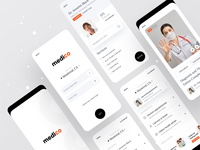 Medico V2 bangladesh practo surja sen das raj minimal clean app minimal app app design ofspace agency ofspace dribbble best shot dribbble medical design health industry health health care medicos app health app medical app medico