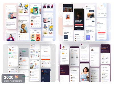 2020 Clean App Design creative trending brand design dribbble invite ofspace agency ofspace ios application ios app design app design app dribbble trendy design 2020 trends 2020 design 2020 trend trend dribbble best shot