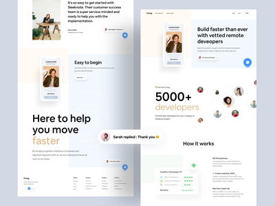Turing Web UI Redesign Concept minimal web design minimal web clean website ui design grabstar dribbble 2021 ofspace adacemy ofspace agency ofspace website development website template website design agency webdesign web design web website builder website concept website design websites website