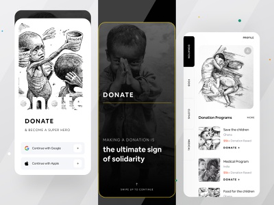 Making a donation is the ultimate sign of solidarity top designers dribbble trend 2021 dribbble top shot ux illustration branding template gradient logo graphic design animation ui design creative dribbble best shot charity cherity donation
