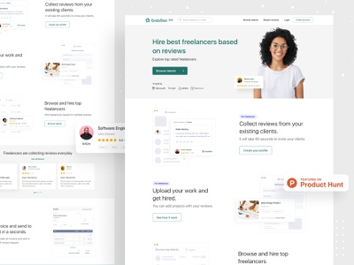GrabStar Launched on Product Hunt ofspace agency ofspace talent hire grabstar deisgn grabstar official web design dribbble best shot marketplace freelance marketplace hiring hire tallent freelance freelancing grabstar.io grabstar