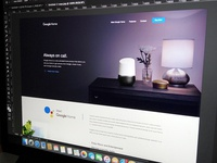 WIP- Google Home : New Google Product Landing Page