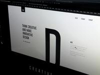 WIP - DEX Creative Landing page