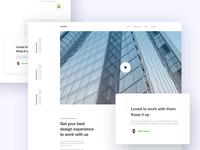 WIXCOS Landing Page Design WIP